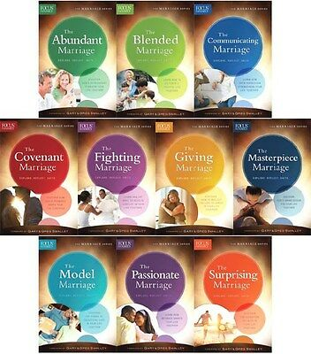 Lot of 10 NEW Christian Books! The Marriage Series - Focus on the Family RTL$100