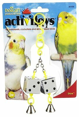 Jw Pet Bird Toy Activitoy Dice Parakeet Cockatiel Canary Free Ship In The Usa