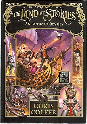 The Land of Stories #5 Author's Odyssey HARDCOVER Chris Colfer BRAND NEW Book