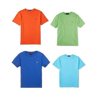 Brand New - Ralph Lauren Polo Boys Short Sleeve Crew Neck T- Shirt