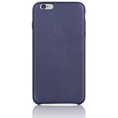 Apple iPhone 6S Plus Leather Case Blue Luxurious Cover MKXD2ZM/A OEM New Genuine