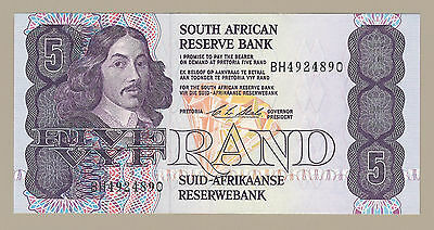 ND (1990-94) SOUTH AFRICA 5 RAND NOTE, P-119e, CHOICE UNCIRCULATED