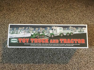 New 2013 Hess Toy Truck and Tractor. in box.
