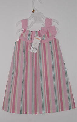 New With Tag  Gymboree Toddler Girl Cotton Spring / Summer Dress  Size 2T