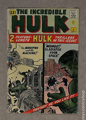 Incredible Hulk (1962-1999 1st Series) #4 FR/GD 1.5