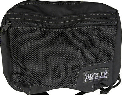"""Maxpedition MX329B Individual First Aid Pouch Black 8"""" x 5"""" x 2.5"""" Lightweight"""
