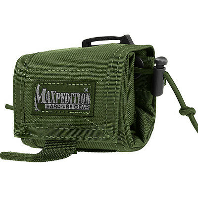 Maxpedition 0208G Rollypoly Folding Dump Pouch Green
