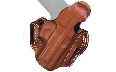 DeSantis 001TAB6Z0 Thumb Break Scabbard Belt Holster RH Tan Fits Glock 19 & 23