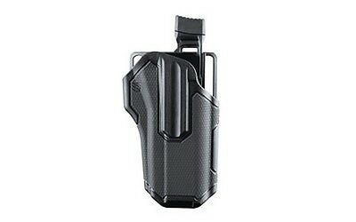 BlackHawk 419000BBL Black LH Omnivore Belt Holster Multi-Fit For Handguns Rail