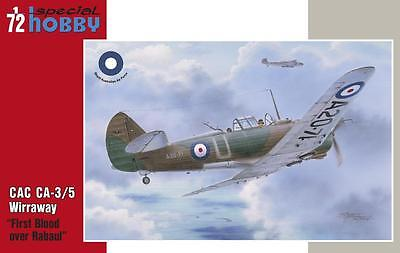 1/72 SPECIAL HOBBY 72331; CAC CA-3/5 Wirraway RAAF First Blood over Rabaul