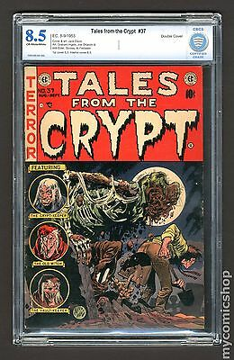 Tales from the Crypt (1950 E.C. Comics) 37 CBCS 8.5 Double Cover