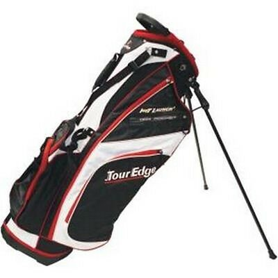 Tour Edge Golf UBAHISB03 Hot Launch 2 Stand Bags Black/White & Red