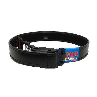 "Bianchi 22124 AccuMold Elite Medium Wide Plain Leather Duty Belt 2.25"" 34""-40"""