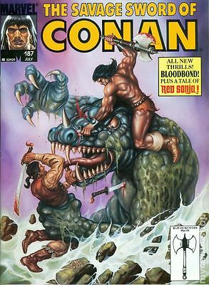 Savage Sword of Conan (1974 Magazine) #187 VF