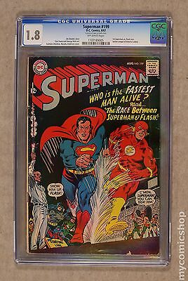 Superman (1939 1st Series) #199 CGC 1.8 1107189005