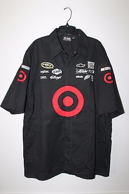 New Kyle Larson TARGET NASCAR Racing pit crew shirt men's L