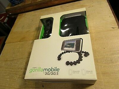 Joby GM2-01EN Gorillamobile 3G/3GS iPhone Flexible Tripod w Case Clips Adapters