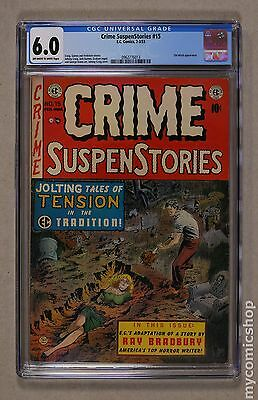 Crime Suspenstories (1950-55 E.C. Comics) #15 CGC 6.0 0962776013