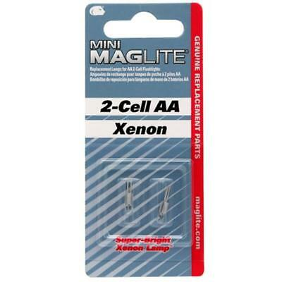 MagLite LM2A001 Mini-Mag 2 Cell AA Xenon Replacement Flashlight Lamp/Bulb