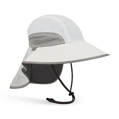 SunDay Afternoons ADVENTURE HAT best Sun Protect White NEW