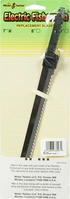 """Mister Twister RB-1201 Electric Fisherman Replacement 7"""" Stainless Knife Blades"""