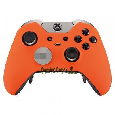Soft Touch Orange Repair Parts Cover Housing Shell for Xbox One Elite Controller
