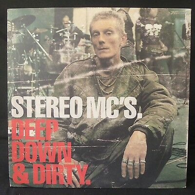 STEREO MCs Deep Down & Dirty ISLAND Inners 3LP EX