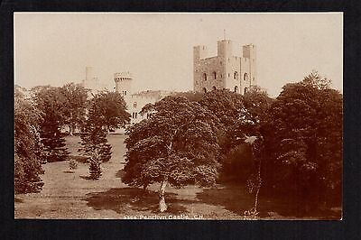Penrhyn Castle - real photographic postcard