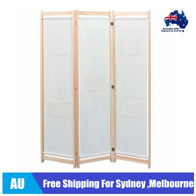 new 4-Panel Room Divider Privacy Folding Screen White 160 x 180 cm L6Y4