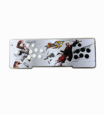 Pandora Box 4s Double Stick Arcade Console KoF 800 Games Acrylic Panel & Light