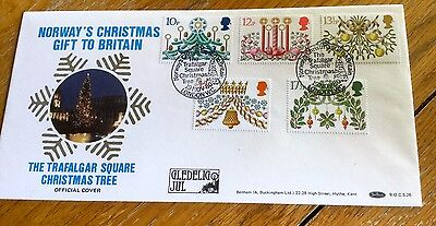 Benham First Day Cover Norway's Christmas Gift To Britain Limited Edition