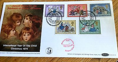 Benham First Day Cover The Nspcc Limited Edition