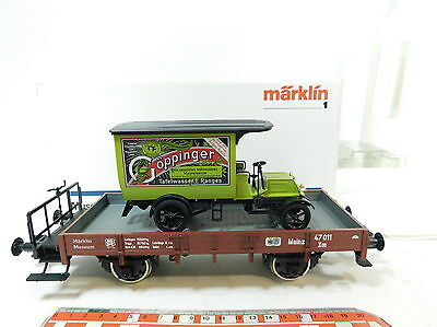 BB97-2# Märklin 1 Gauge 85842 Freight Car/Museum Vehicle 1994 Spring Bumper NIP