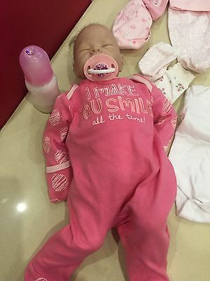 Reborn Doll And Accessories , In Excellent Condition