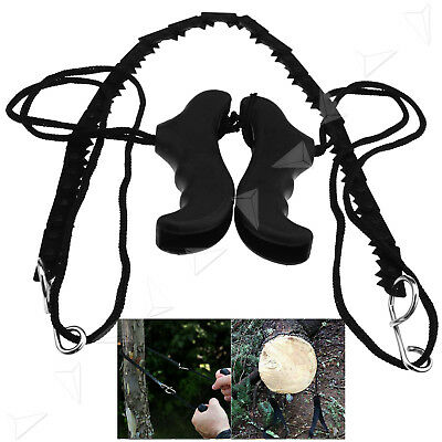Pocket Chainsaw Portable Survival Hand Chain Saw Camping Kit Gear Steel Outdoor