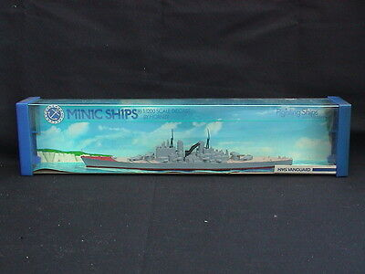 Minic Ships by Hornby M741. HMS Vanguard. Scale 1:1200. Boxed.