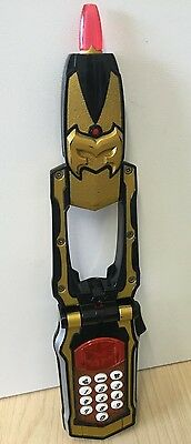 Power Rangers Mystic Force Morpher Light Up Talking Phone Toy Bandai 2005