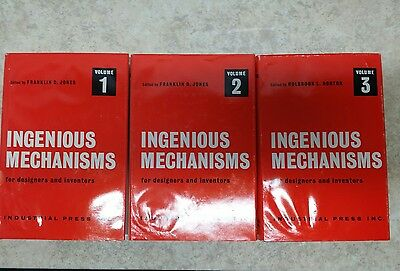 Ingenious Mechanisms for Designers and Inventors: Vol. 1, 2 and 3
