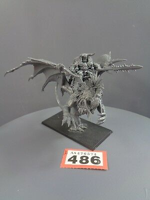 Warhammer Age of Sigmar Warriors of Chaos Lord on Manticore 486