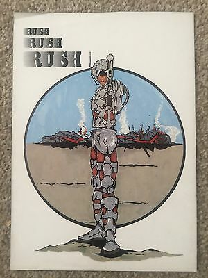 Rush 1990 Rave Flyers Flyer