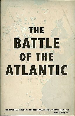 Ww2  Book  - The Battle Of The Atlantic,- 1946