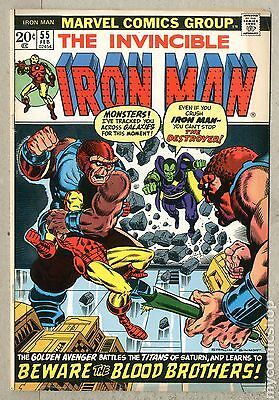 Iron Man (1968 1st Series) #55 VG+ 4.5