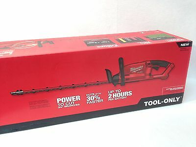 Milwaukee 2726-20 NEW M18 FUEL 24 in. Dual Action Hedge Trimmer Bare Tool