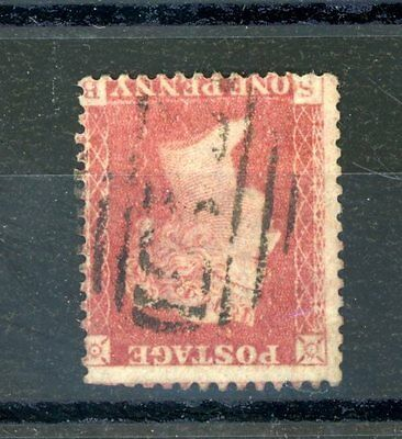 Queen Victoria 1d Red Large Crown 'Inverted' wmk  used (slight fault)    (J1446)