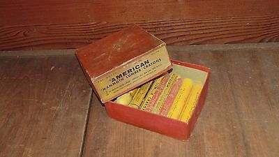 Lot of American Mammoth Lumber Crayons