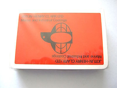 MARINE INDUSTRIAL COATINGS WADDINGTONS VINTAGE PLAYING CARDS 1960s