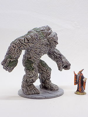 D&D AD&D EARTH TITAN 33/60 D&D Miniatures Against the Giants Wizards 41773