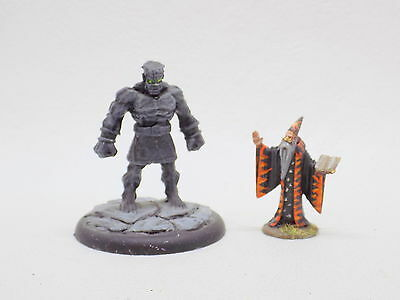 D&D AD&D STONE GOLEM Well Painted Bones 71171 Reaper Miniatures 41772