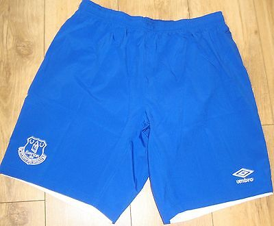 Everton Umbro Blue Shorts Size Adult Xl Brand New With Tags