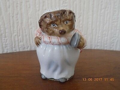 "Beswick Beatrix Potter ""mrs Tiggywinkle"" Bp2 Gold Mark"